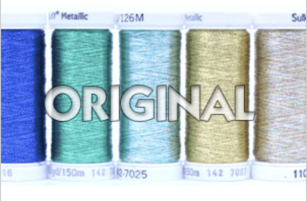 original metallic thread