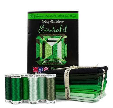 Emerald quilt blocks kit