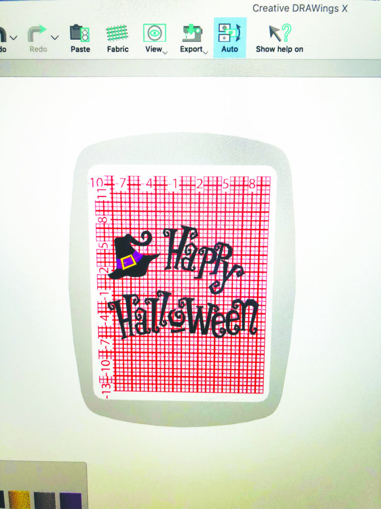 Happy Halloween Table Runner software