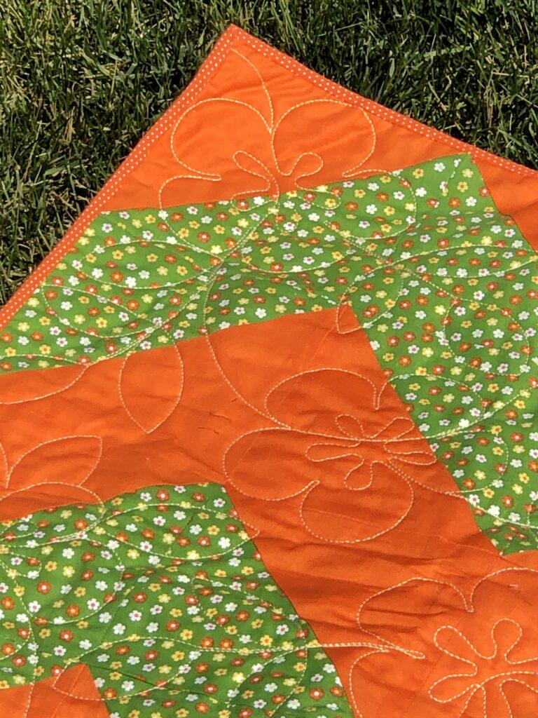 vintage picnic quilt