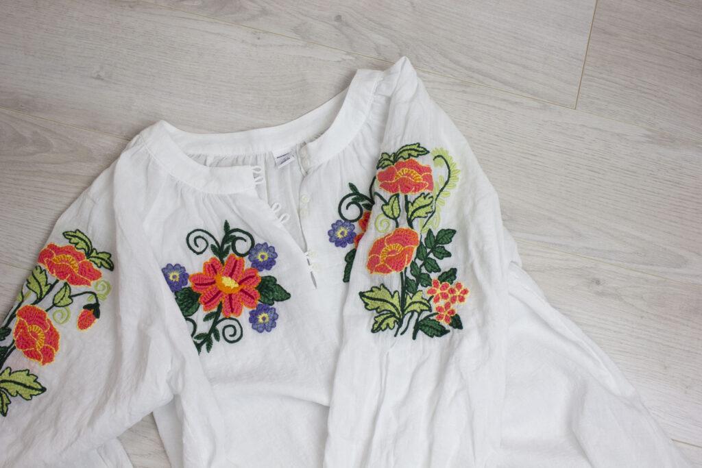 Vintage inspired blouse