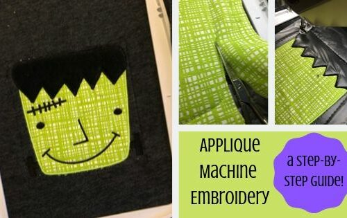 applique machine embroidery