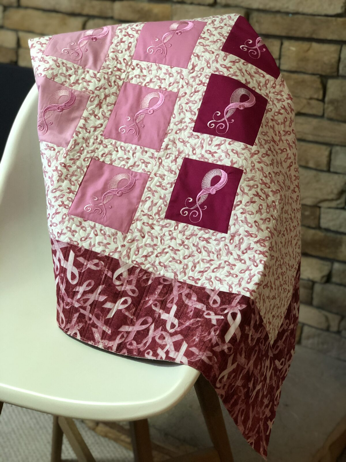 Breast Cancer Quilt Free Pattern For Patients Survivors