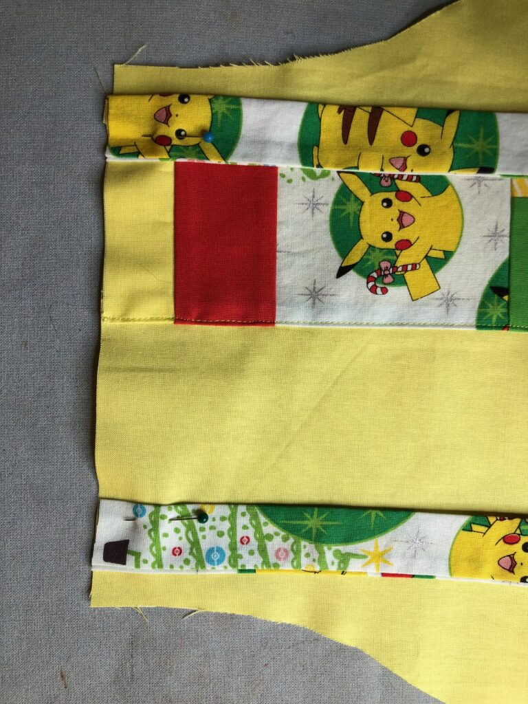 kid holiday apron