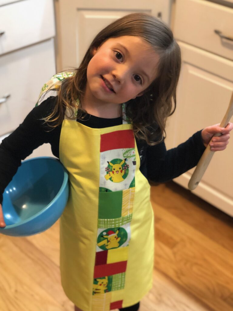holiday apron for kids