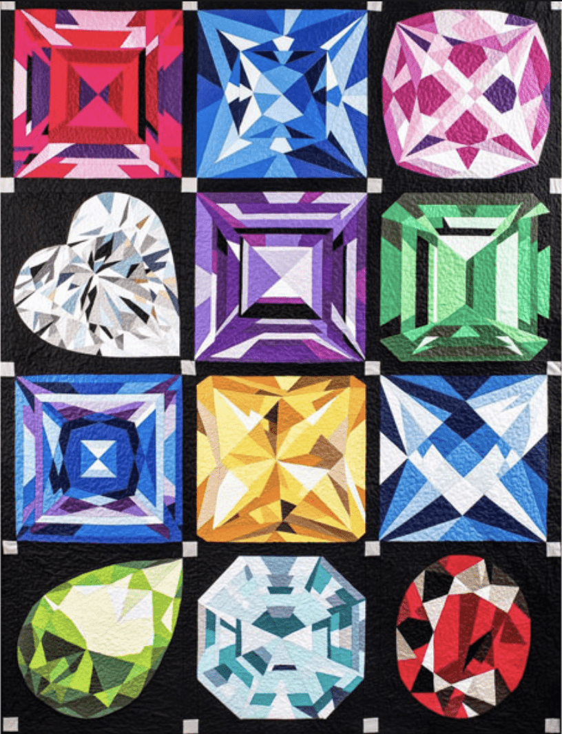 Finished Birthstone Quilt
