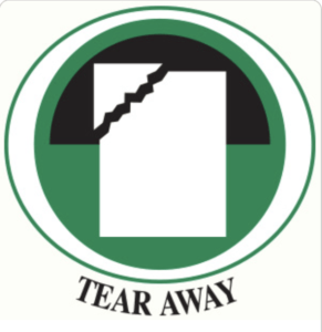 tear away stabilizer