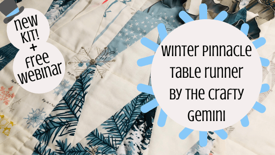 Winter Pinnacle Table Runner