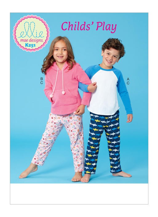 Knit Pajamas pattern cover