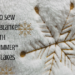 plush snowflake throw
