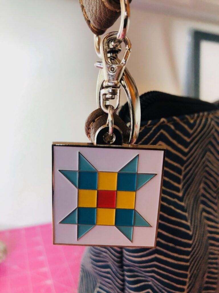 quilt block charm gift
