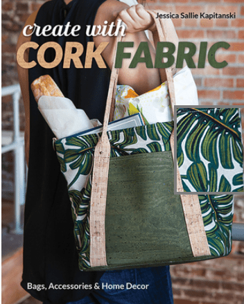 how to create with cork fabric