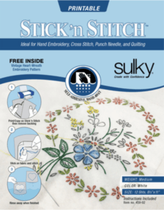 Stick n Stitch