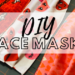 two free face mask patterns