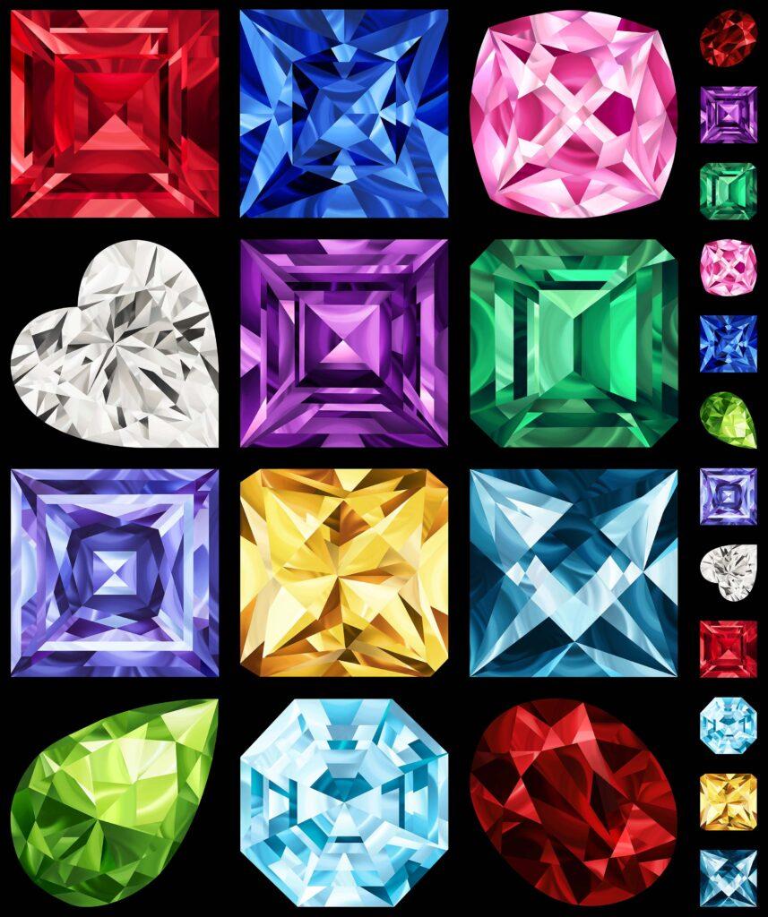 designing quilts for birthstone gems