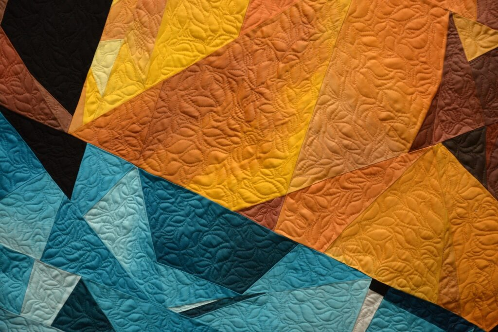 designing quilts for fire & ice