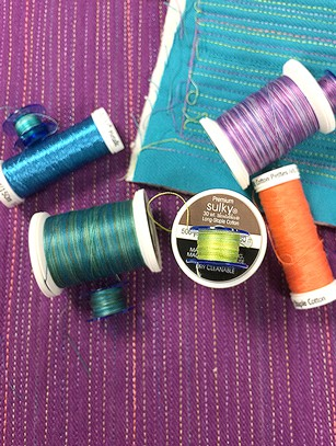 Sulky thread for quilting