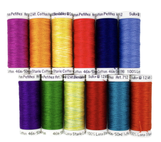 12 wt. Cotton Petites Thread