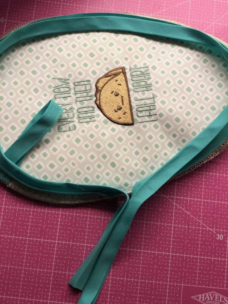 binding potholder