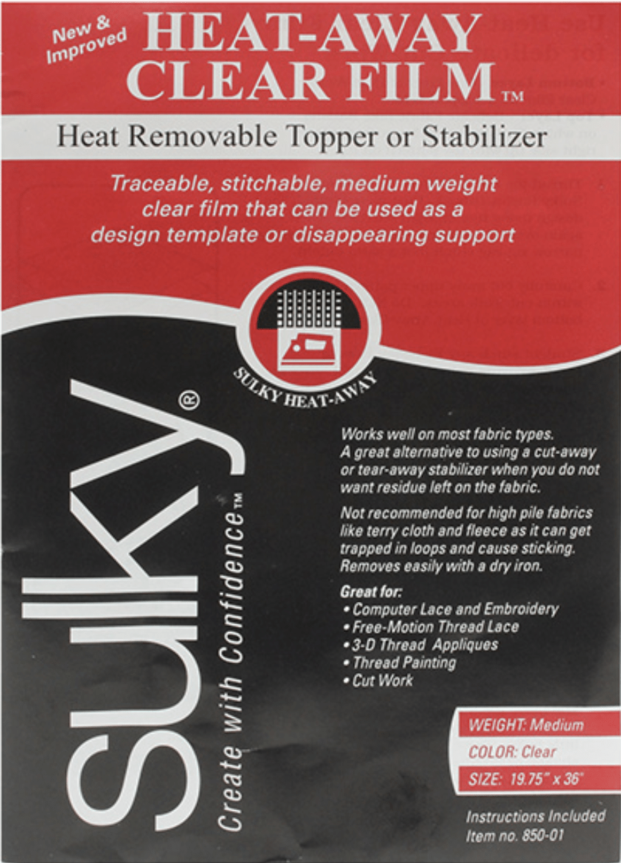 heat-away stabilizer