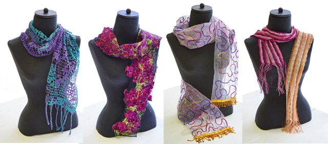 water-soluble stabilizer scarves