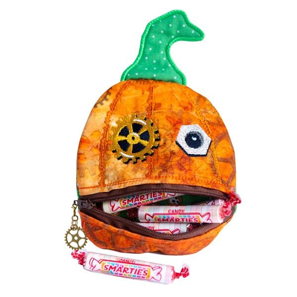 Steampunk Pumpkin Pouch