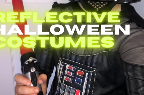 CREATE REFLECTIVE HALLOWEEN COSTUMES