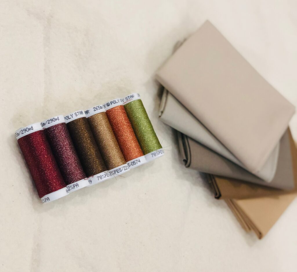 Thanksgiving placemat supplies