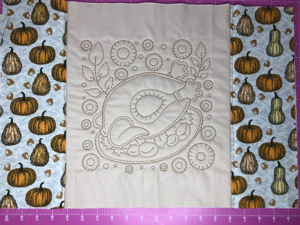 finished placemat front
