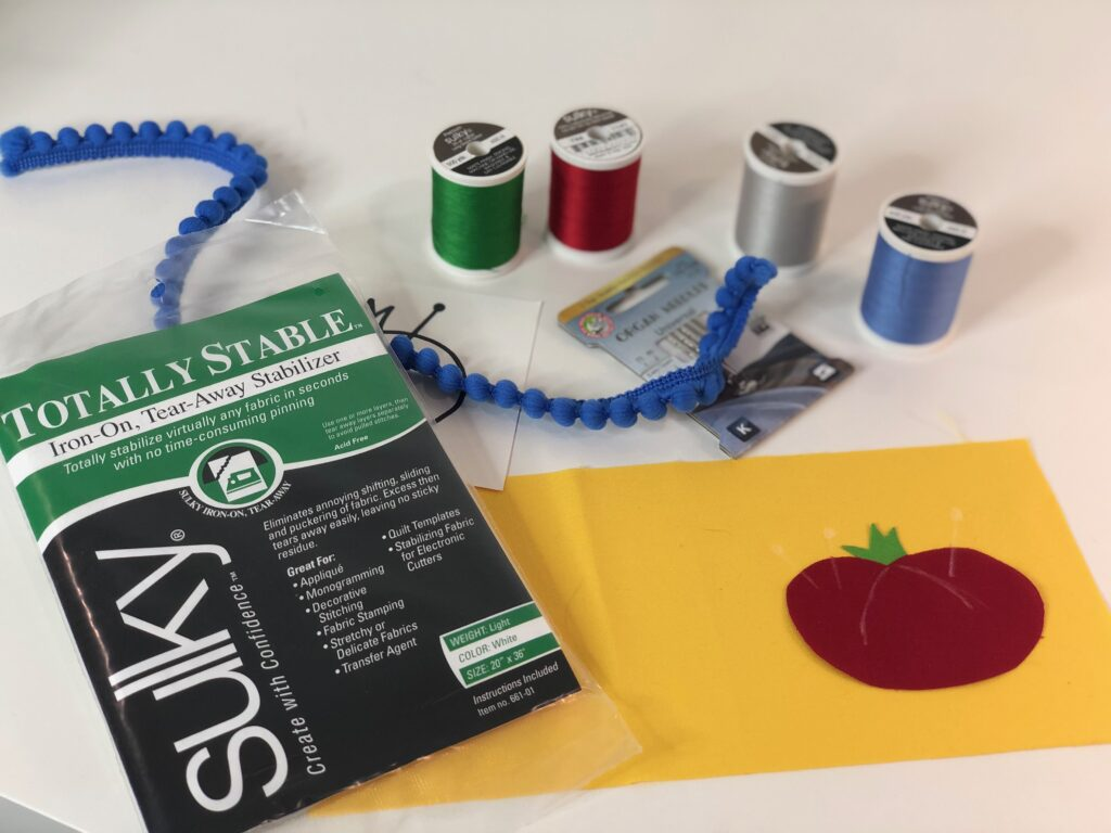 sewing ornament supplies