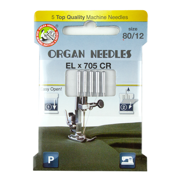 Organ Needles for Serger Use