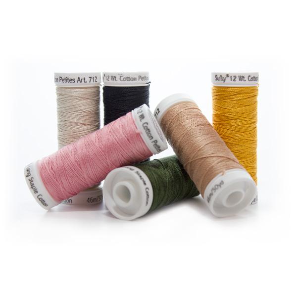 Sulky Cotton Petites Thread for Tank Top Embellishment
