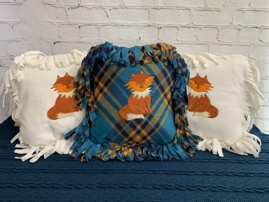 free fox design - Filaine Fox on Pillows