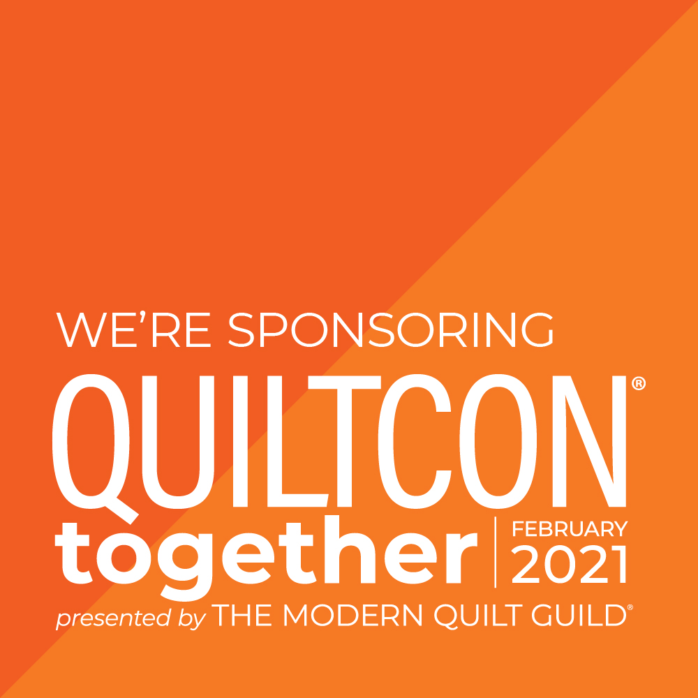Quiltcon Sponsor Badge