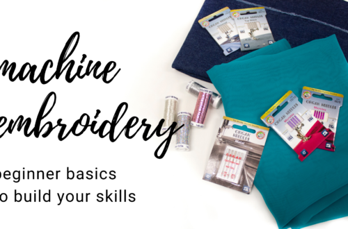 beginner machine embroidery resources