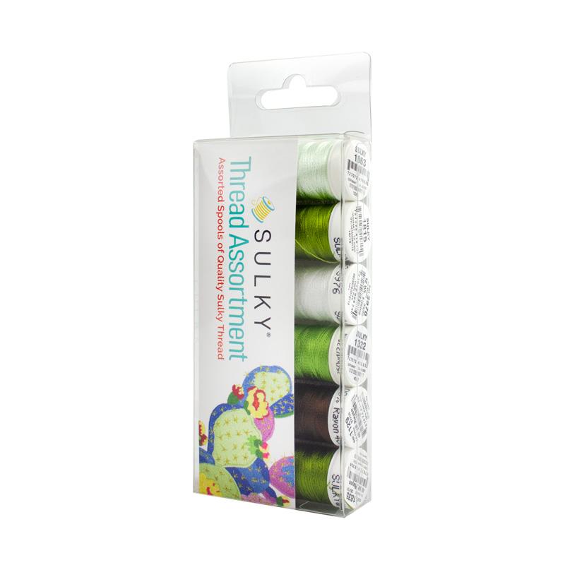 Dandelion Machine Embroidery Mini Palette