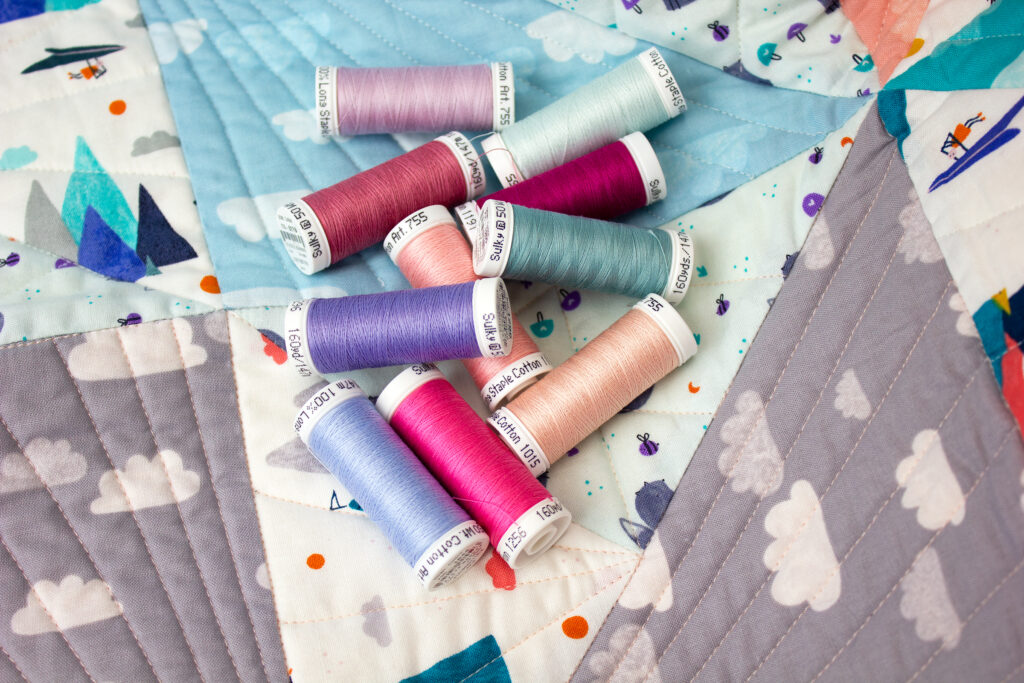 thread for baby quilt