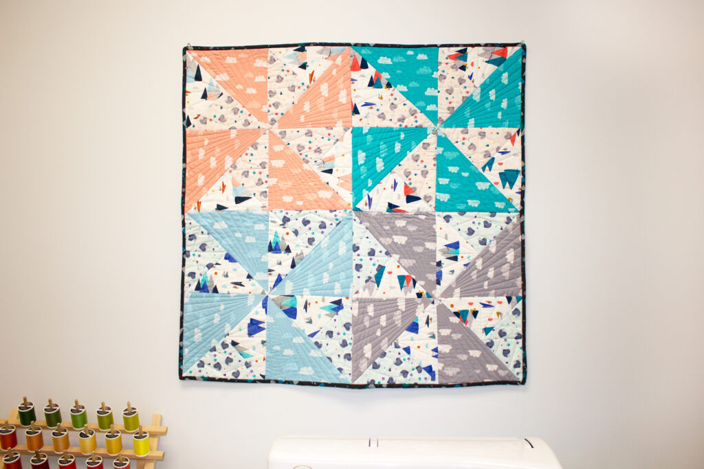 easy baby quilt to sew