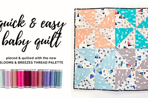 quick & easy baby quilt