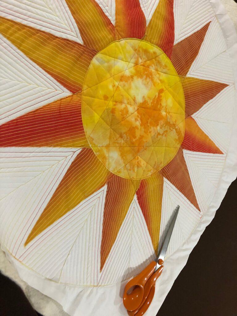 trim sun table topper