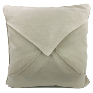 pillow blank back, closed