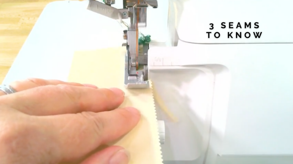 how to use your serger stitches to make